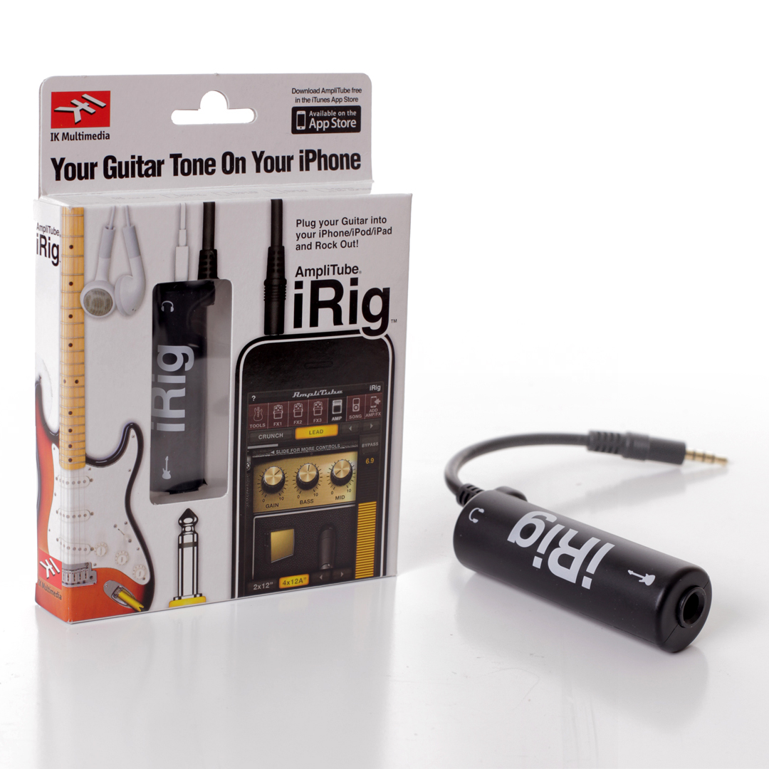 amplitude irig guitar interference for ipad iphone ipod touch ebay. Black Bedroom Furniture Sets. Home Design Ideas